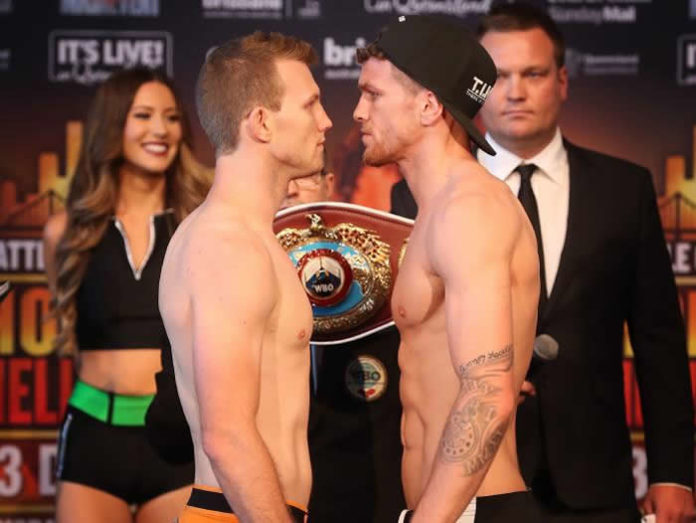 Jeff Horn vs Gary Corcoran - weigh-ins