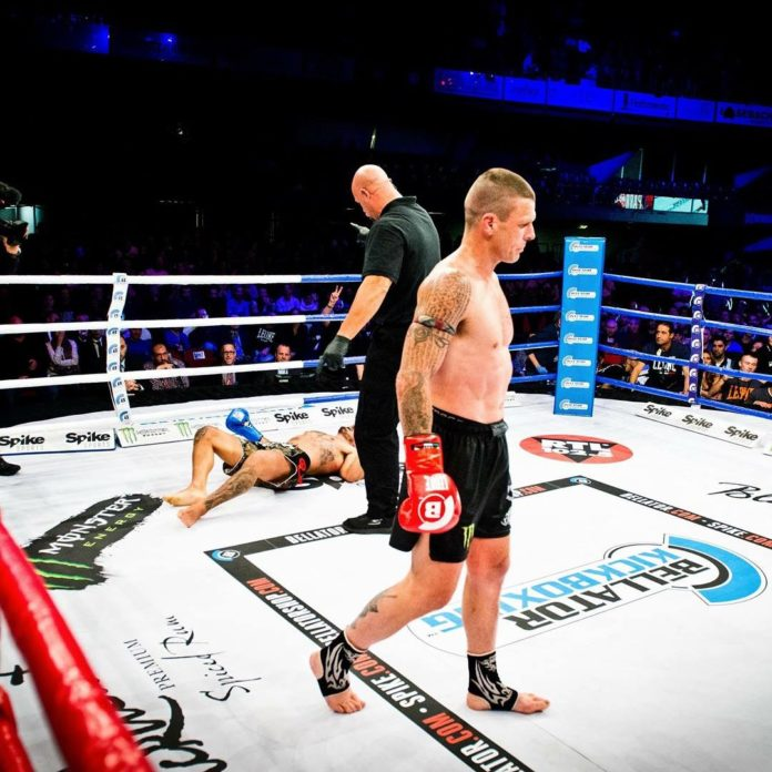 John Wayne Parr next fight at Bellator Kickboxing