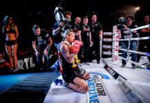 John Wayne Parr victorious at Bellator Kickboxing 8
