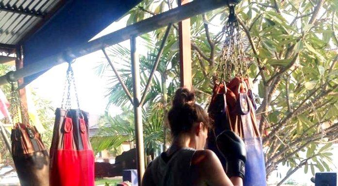 Lilian Dikmans Muay Thai training Thailand