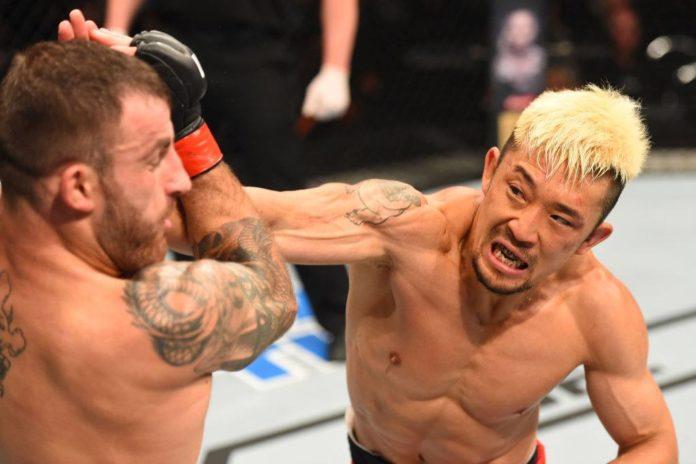 Mizuto Hirota takes on Ross Pearson at UFC 221 Perth
