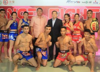 Muay Thai Angels weigh-ins