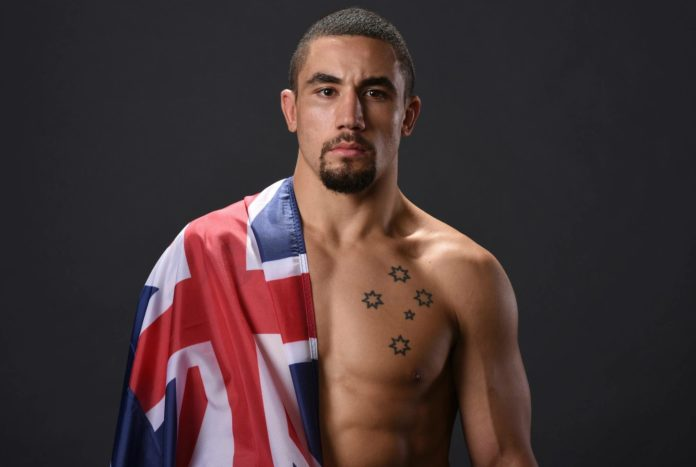 Robert Whittaker vs Luke Rockhold targeted for UFC 221 at Perth Arena