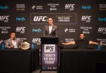 UFC 221: Robert Whittaker vs Luke Rockhold press conference