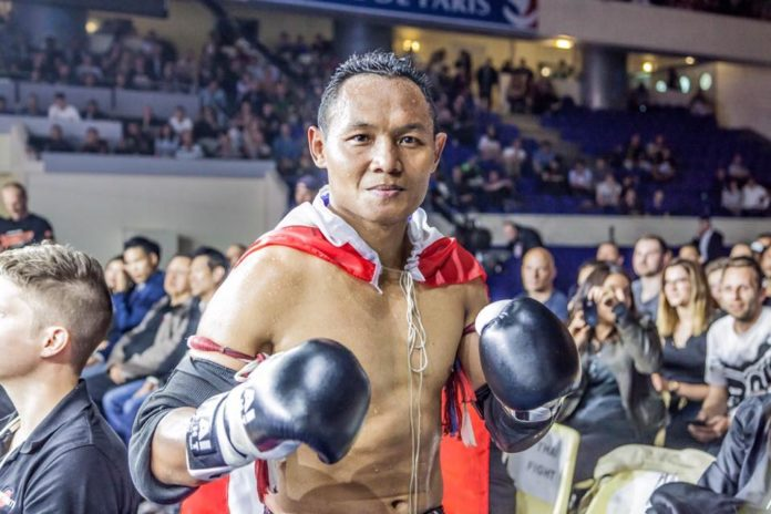 Saenchai partakes in Thai Fight Chiang Mai