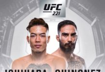 UFC 221 Perth fight card
