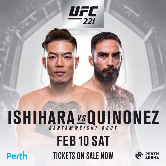 UFC 221 Perth fight card