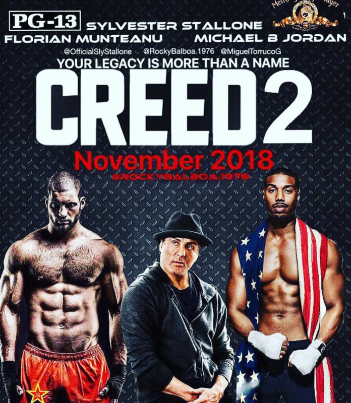 sylvester stallone creed 2 going to be a war first ever rocky