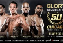 Four-man tournament added to Glory 50 Chicago
