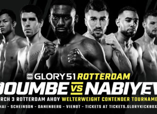 GLORY 51 Rotterdam fight card announced