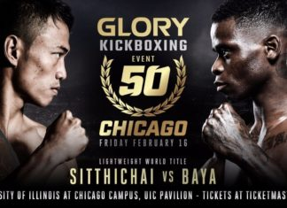 Glory 50 fight card announced