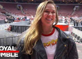 Ronda Rousey makes WWE debut