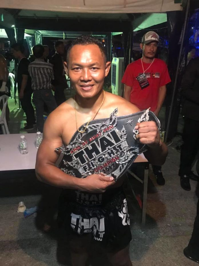 Saenchai victorious at Thai Fight Bangkok