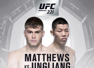UFC 221 fight card