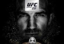 UFC 221 poster