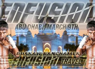 Buakaw Banchamek next fight set at Enfusion Abu Dhabi