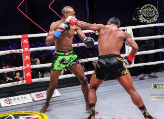 Buakaw TKOs Nayanesh Ayman at Kunlun Fight 69