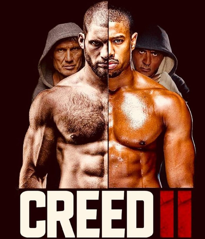 Sylvester Stallone unveils Creed 2 fan-made poster