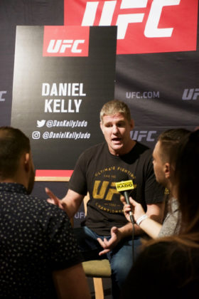 Daniel Kelly at UFC 221 Media Day