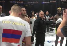 Harut Grigorian wins GLORY kickboxing welterweight title