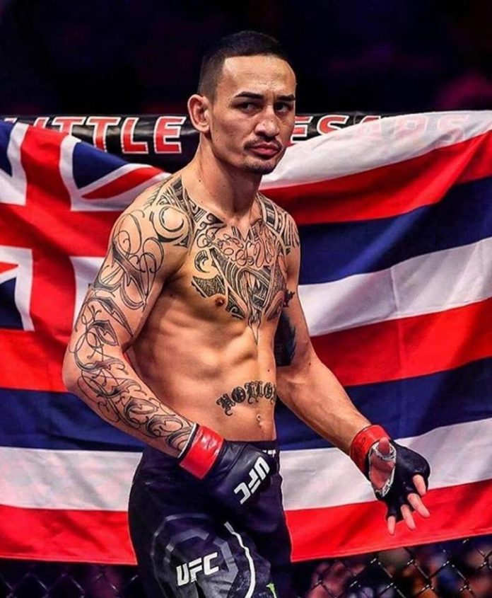 Max Holloway Out of UFC 222 Main Event