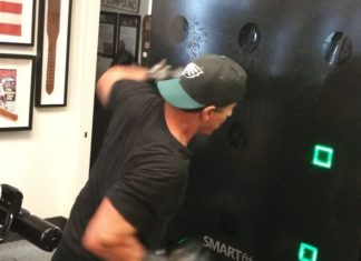 Sylvester Stallone training Smartfit