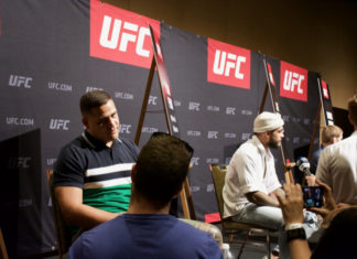 UFC 221 Media Day