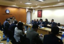 Thailand Sports Minister eceives IFMA Muay Thai officials