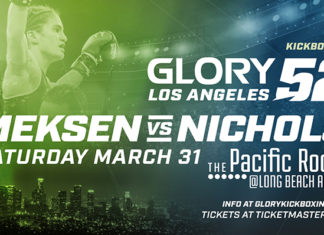 GLORY 52 Los Angeles nearly full fight card announced