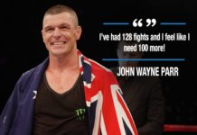 John Wayne Parr partakes in Bellator Kickboxing 9