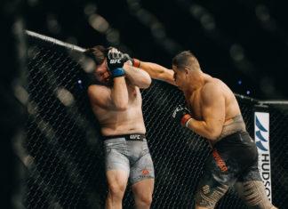 Tai Tuivasa partakes in UFC 225 in Chicago