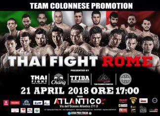 Thai Fight comes to Rome