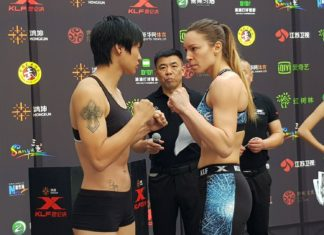 Kunlun Fight 70 Laetitia Madjene vs Wang Kehan
