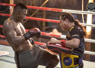 Buakaw Banchamek Muay Thai training