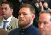 Conor McGregor released on bail