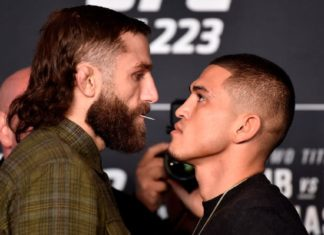 UFC 223 Michael Chiesa vs Anthony Pettis cancelled following Conor McGregor bus attack