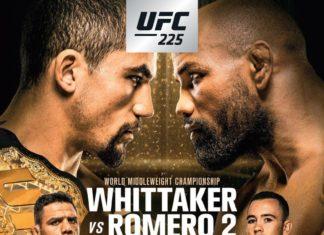 UFC 225 Whittaker vs Romero 2