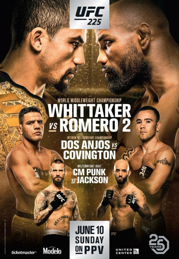 UFC 225 Whittaker vs Romero 2
