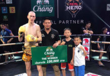 Igor Liubchenko wins Real Hero LW Muay Thai tournament