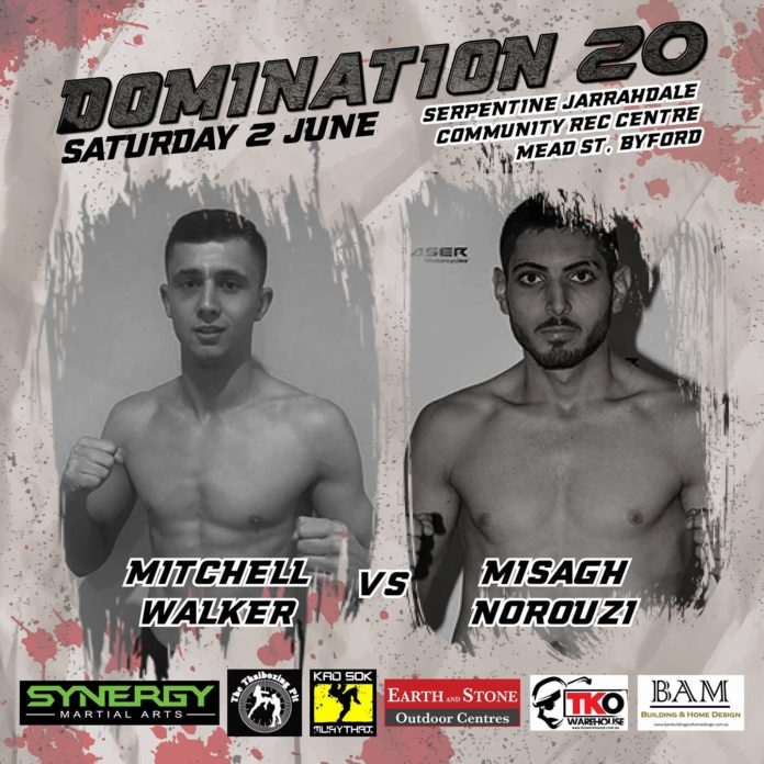 Domination Muay Thai 20: Mitchell Walker vs. Misagh Norouzi