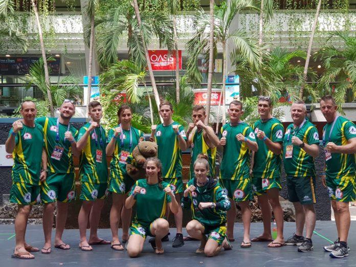 Team Australia at IFMA Muay Thai World Championships 2018