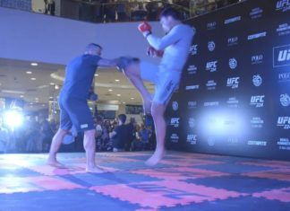 UFC 224 open workouts