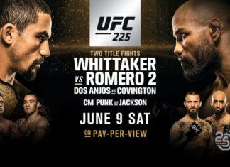 UFC 225 Whittaker vs Romero