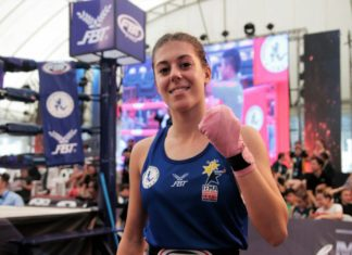 Alexia Johnson at IFMA Muay Thai Youth Worlds 2017