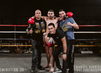 Misagh Norouzi victorious at Domination Muay Thai 20