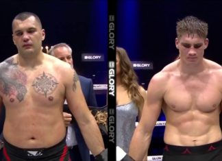 GLORY 54 results: Rico Verhoeven retains heavyweight title