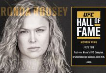 Ronda Rousey first woman inductee into UFC Hall of Fame