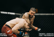 Tyson Pedro partakes in UFC Fight Night Singapore