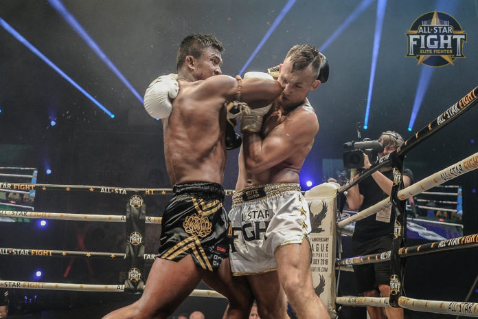 Buakaw Banchamek dominates Michael Krcmar at All Star Fight 5 Prague