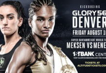 GLORY 56 Denver: Meksen vs. Menezes